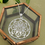 Mandala Pendant Soulful Flower - Wholesome Habitat