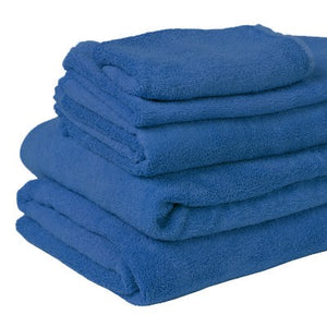 100% Organic Bamboo Bath Towel - Cobalt - Wholesome Habitat