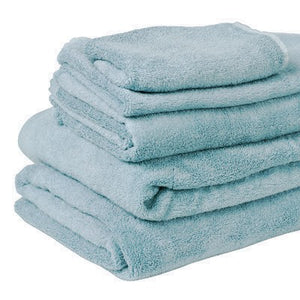 100% Organic Bamboo Bath Towel - Sky Blue - Wholesome Habitat