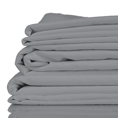 100% Organic Bamboo Sheet Set - Silver Shimmer - Wholesome Habitat
