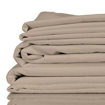 100% Organic Bamboo Sheet Set - Simply Taupe - Wholesome Habitat