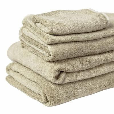 100% Organic Bamboo Bath Towel - Oatmeal - Wholesome Habitat
