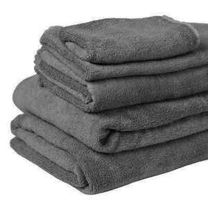 100% Organic Bamboo Bath Towel - Charcoal - Wholesome Habitat