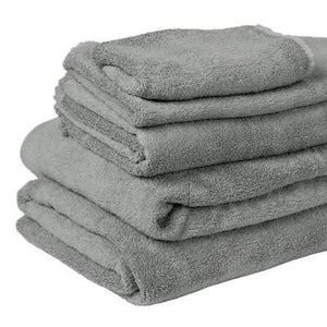 100% Organic Bamboo Bath Towel - Natural Grey - Wholesome Habitat