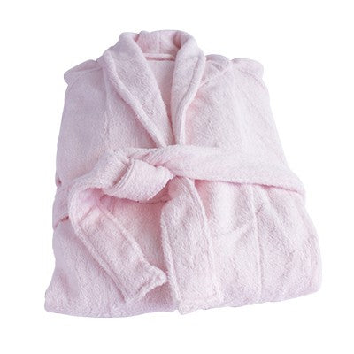 Organic Bamboo Bathrobe - Pink - Wholesome Habitat