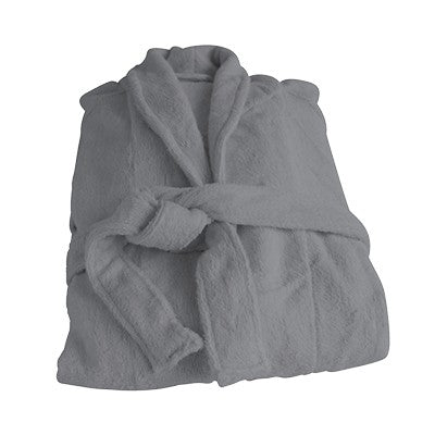 Organic Bamboo Bathrobe - Cloudy Grey - Wholesome Habitat