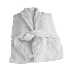 Organic Bamboo Bathrobe - Natural Mist - Wholesome Habitat