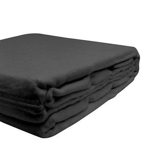100% Organic Bamboo Blanket - Charcoal - Wholesome Habitat