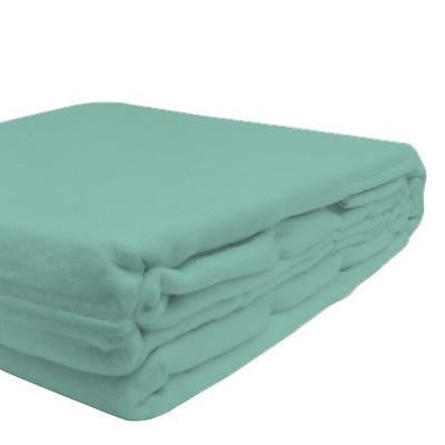 100% Organic Bamboo Blanket - Opal Blue - Wholesome Habitat