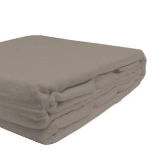 100% Organic Bamboo Blanket - Simply Taupe - Wholesome Habitat