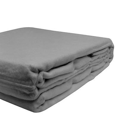 100% Organic Bamboo Blanket - Natural Grey - Wholesome Habitat