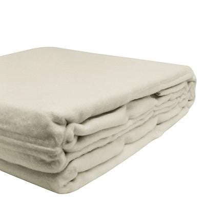 100% Organic Bamboo Blanket - Oatmeal - Wholesome Habitat