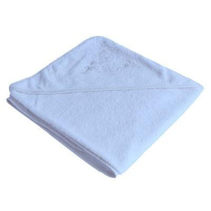 Organic Bamboo Hooded Towel - Light Blue - Wholesome Habitat