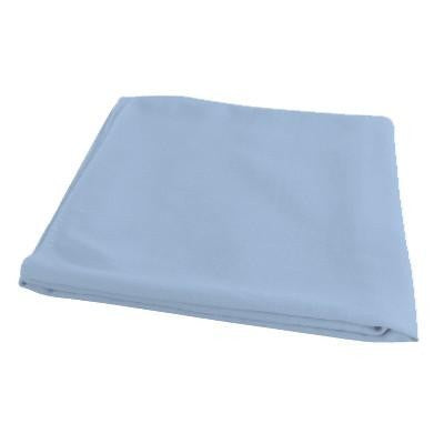 Organic Bamboo Pram Blanket - Light Blue - Wholesome Habitat