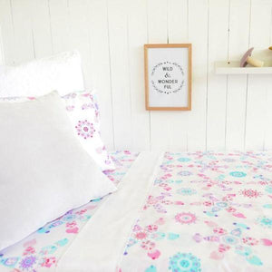Organic Cotton Doll Picnic Sheet Set - Single - Wholesome Habitat
