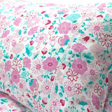 Organic Cotton Fairy Garden Floral Sheet Set - Single - Wholesome Habitat