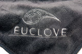 Premium Woven Grey Microfibre Cloth Closeup