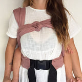 Rosewood Snap Baby Carrier - Wholesome Habitat