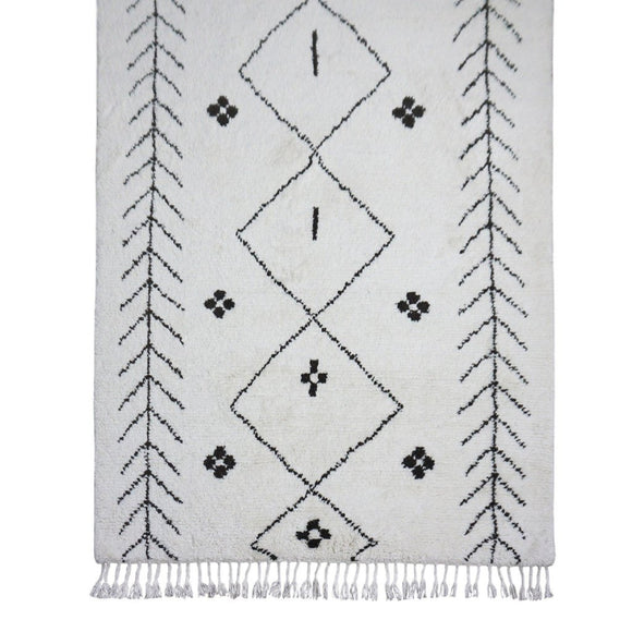 Sabina Hand Knotted Moraccan Style Rug