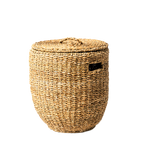 Sea grass small laundry basket - Wholesome Habitat