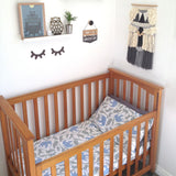 Organic Cotton Cot/Crib Sheet Set - Safari Animals - Wholesome Habitat