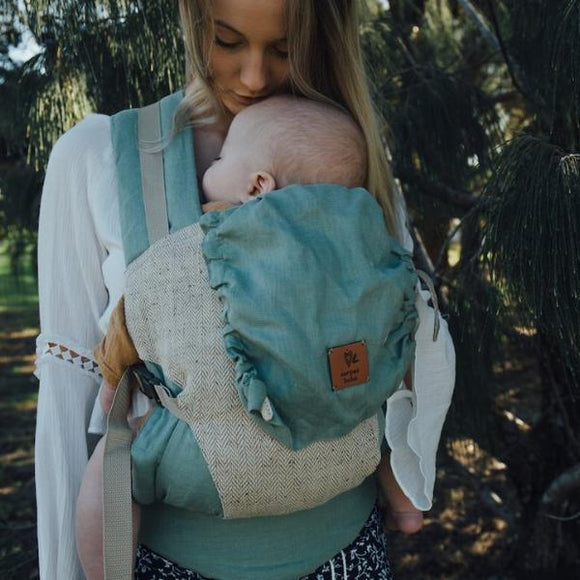 Sage Snap Baby Carrier - Wholesome Habitat