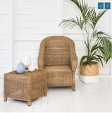 Malawi Cane Classic 1 seater - Wholesome Habitat