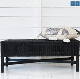 Malawi Cane Classic Rectangular Bench - Wholesome Habitat