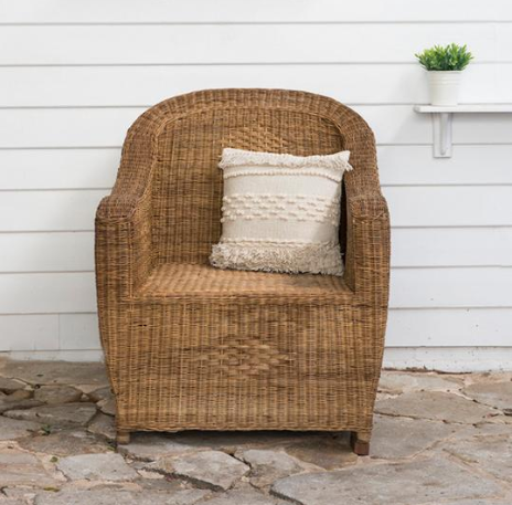 Malawi Cane Premium 1-Seater - Wholesome Habitat
