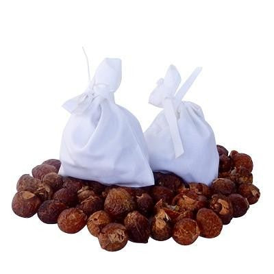 Soap Nuts in Bamboo Bag - Wholesome Habitat
