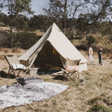 The Londonderry 4m Canvas Bell Tent - Wholesome Habitat