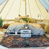 The Londonderry 4m Canvas Bell Tent