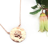 Tree Of Life Rose Gold Pendant - Wholesome Habitat