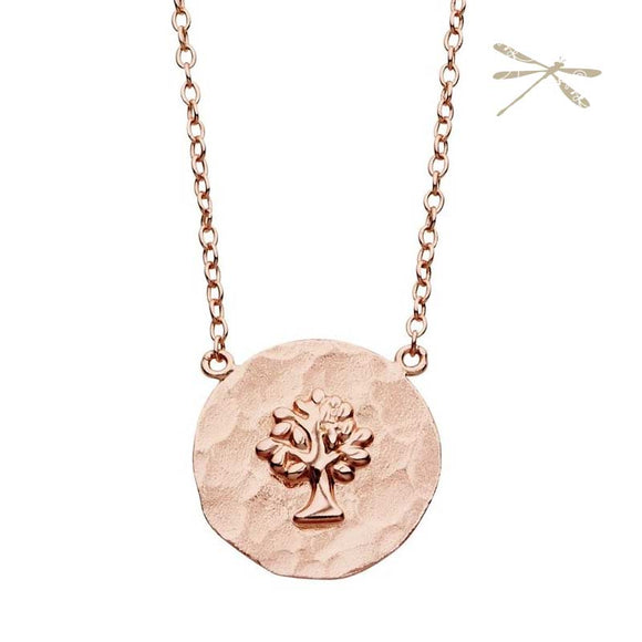 Tree Of Life Rose Gold Pendant