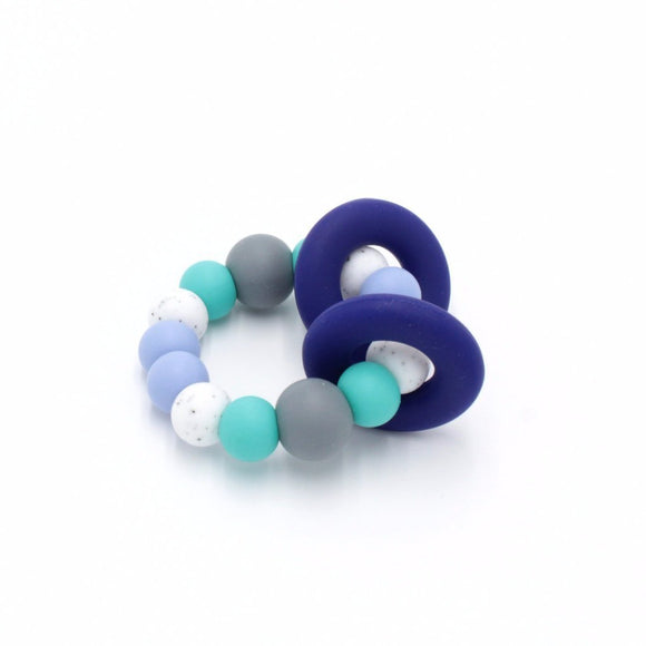 Trio Teething Toy Aquamarine