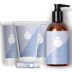 The Ultimate Pamper Gift Pack by Seven Islands Skincare