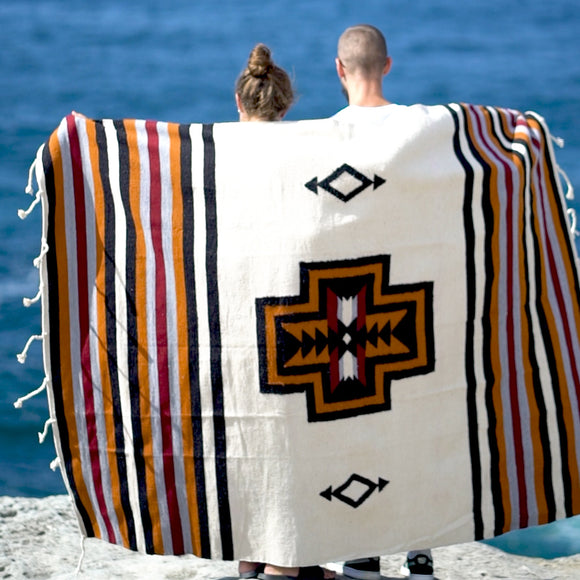 La Cruz Hand Woven Camp and Picnic Rug