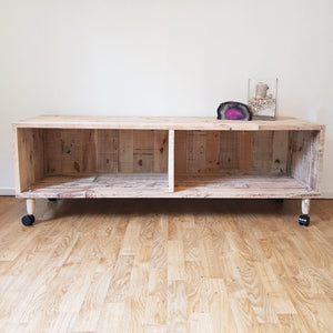 Reclaimed - Recycled Timber TV Unit - Wholesome Habitat