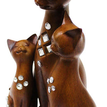 Happy Cat Statues (Pack of: 1) - 207-1437-YX