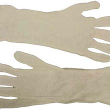 "14"" White Cotton Inspection Gloves (Pack of: 12) - GL-07414-Z12 - ToolUSA"