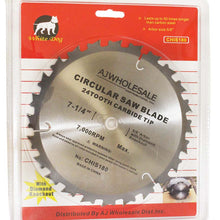 Carbide Tip Saw Blade With 24 Teeth (Pack of: 1) - A90-IS180