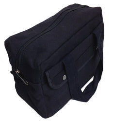 Handy Rigid Black Canvas Bag (Pack of: 1) - AB-20050