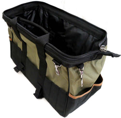 25-Pocket Heavy Duty Tool Holder Bag (Pack of: 1) - AA-87075