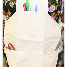 Cotton Canvas Shop Apron, 3 Pockets (Pack of: 1) - AP-61015