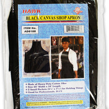 Black Denim Apron, 25-Inches x 34-Inches (Pack of: 1) - AP-20018