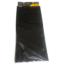 36-Inch Long Black Leather Apron (Pack of: 1) - AS-50011