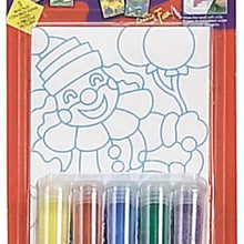 Sand Picture, 5 Colors (Pack of: 1) - CR-91014