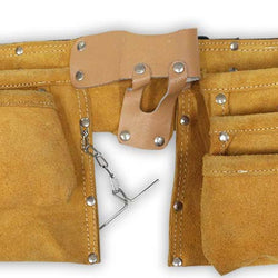 10 Pocket Leather Double Tool Pouch (Pack of: 1) - AS-32103 - ToolUSA