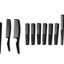 12 Piece Plastic Hair Combs (Pack of: 2) - CARE-82412-Z02 - ToolUSA