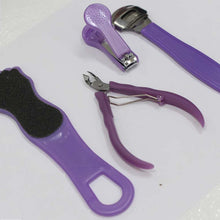 4 Piece Manicure & Pedicure Set (Pack of: 1) - B84-004-YW
